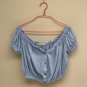 Urban Outfitters Truly Madly Deeply Shoulder Top